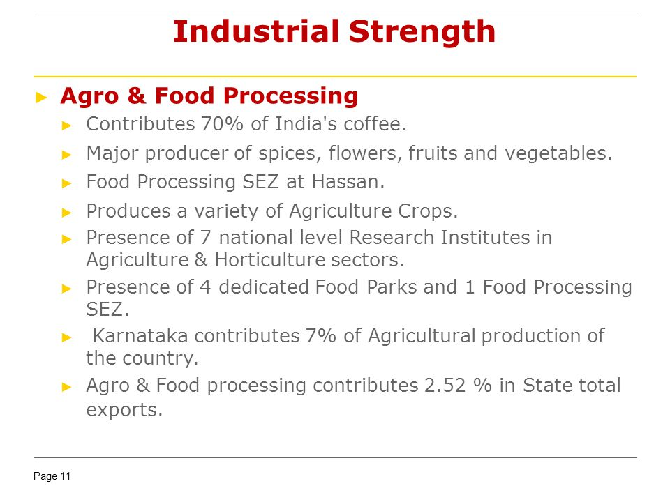 Industrial Strength Agro & Food Processing