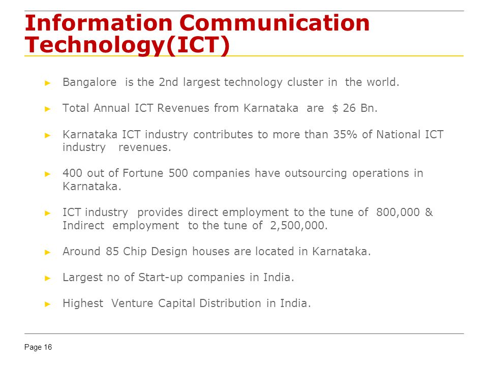 Information Communication Technology(ICT)