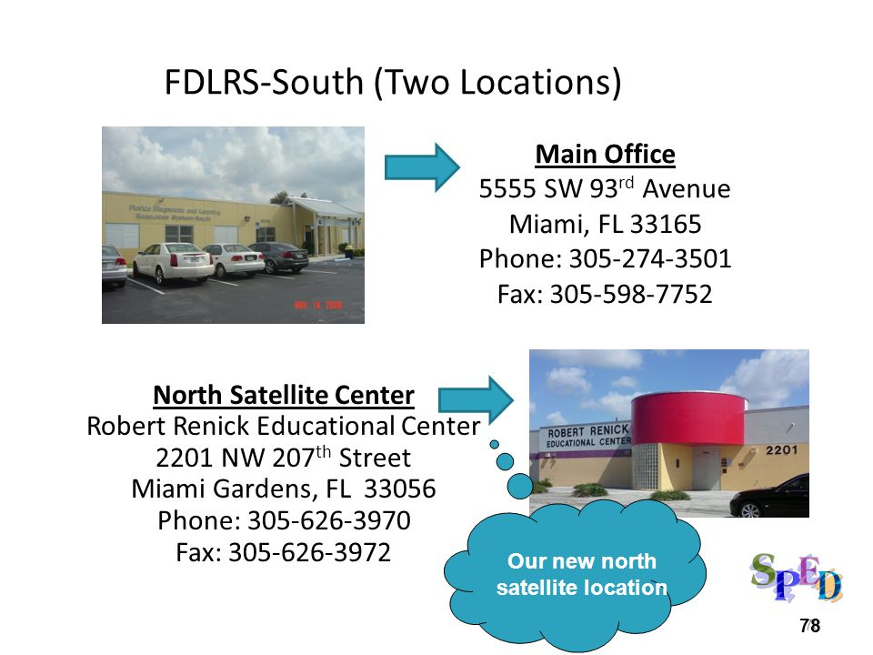 FDLRS-South (Two Locations)
