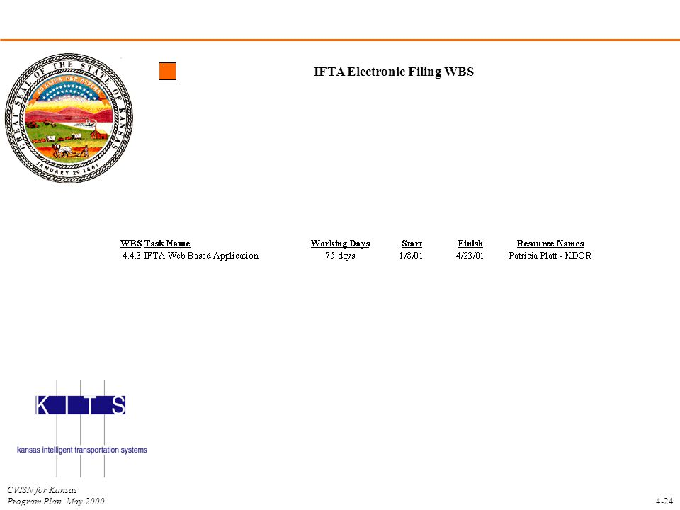 IFTA Electronic Filing WBS