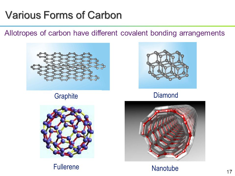 Various Forms of Carbon