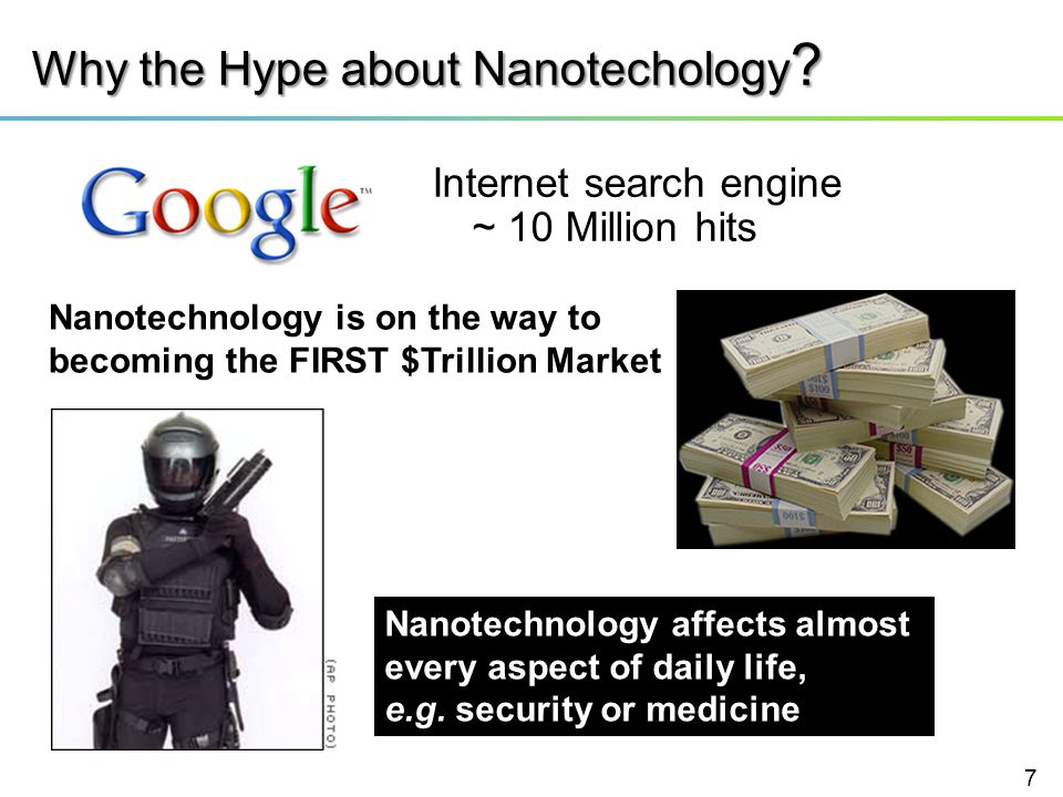 Why the Hype about Nanotechology