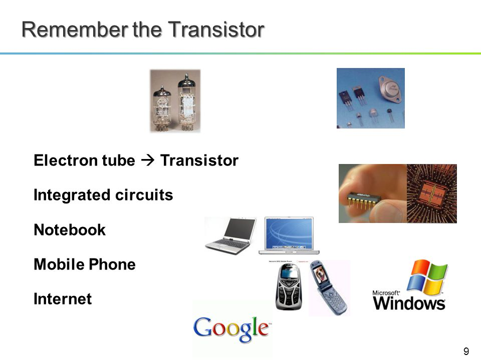 Remember the Transistor