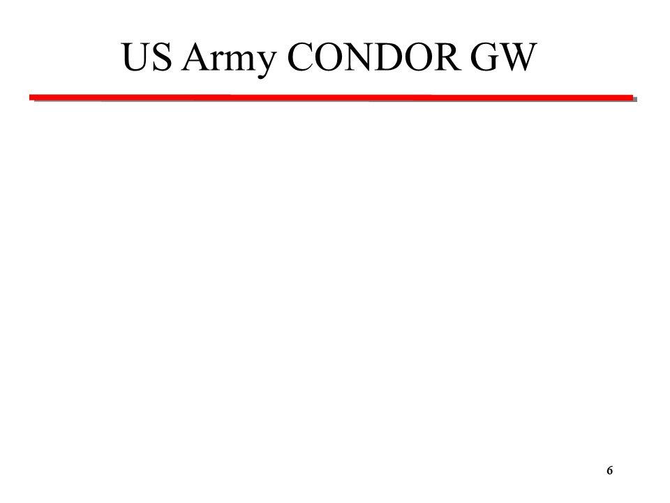 US Army CONDOR GW
