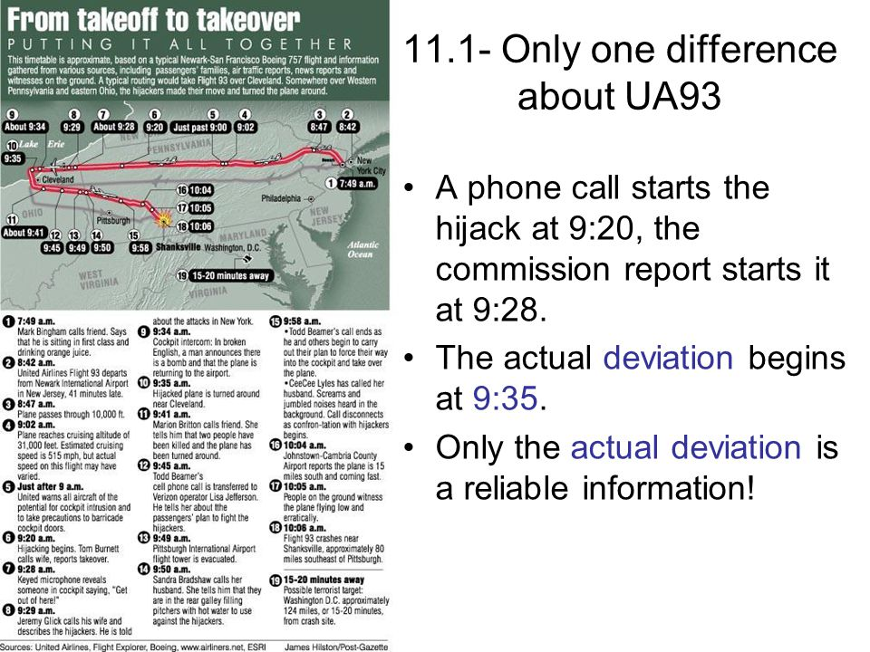 11.1- Only one difference about UA93