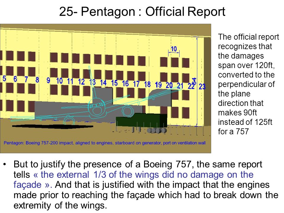 25- Pentagon : Official Report