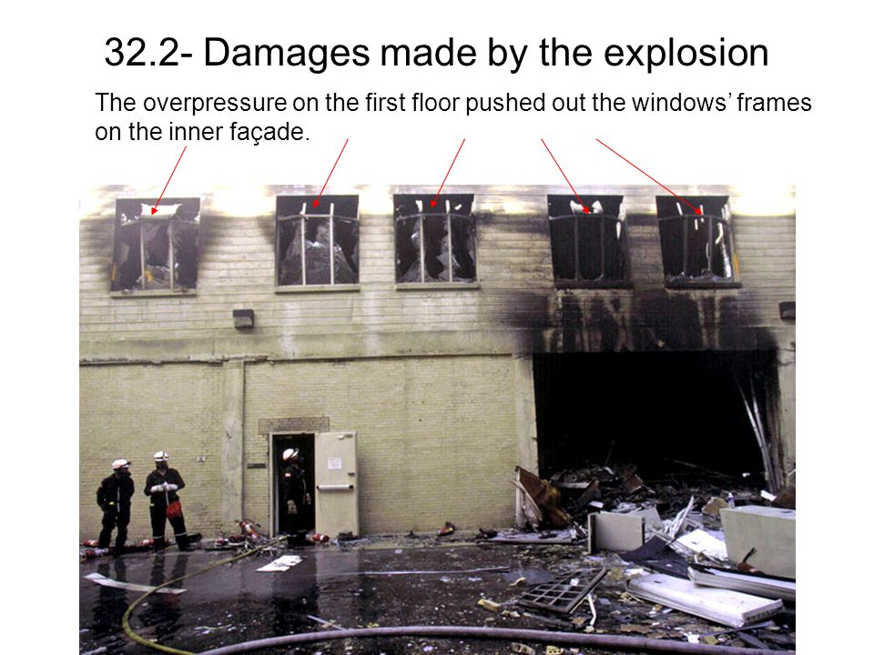 32.2- Damages made by the explosion