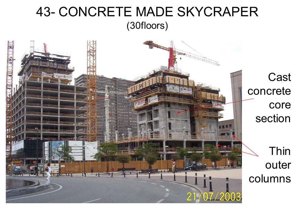 43- CONCRETE MADE SKYCRAPER (30floors)