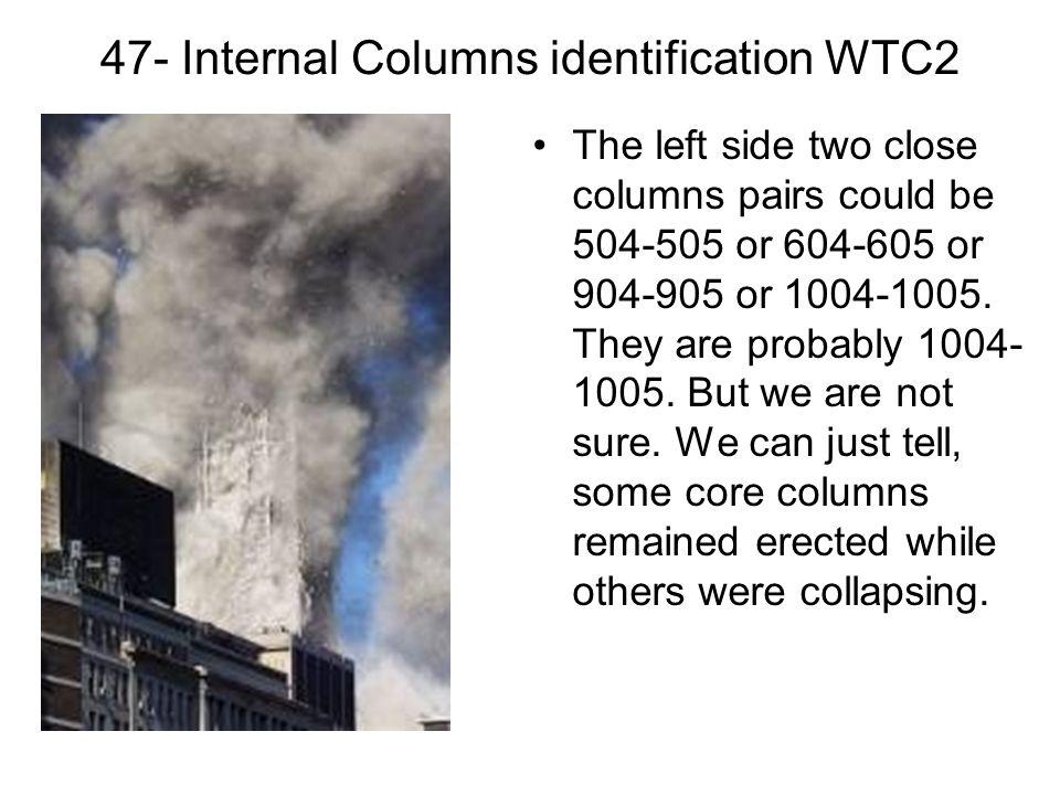 47- Internal Columns identification WTC2