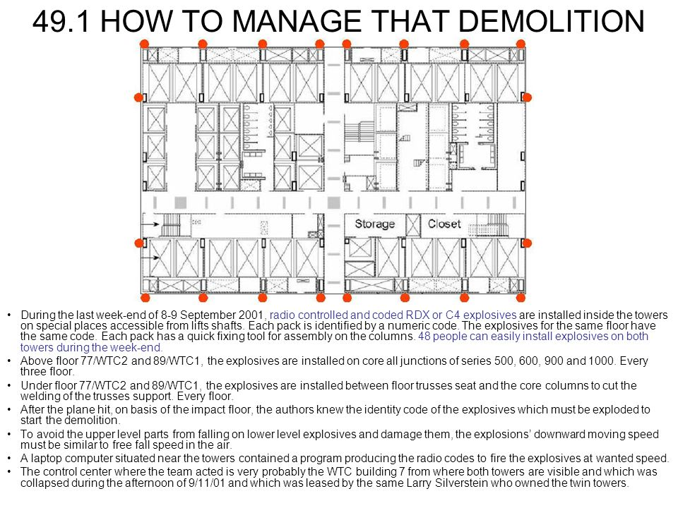 49.1 HOW TO MANAGE THAT DEMOLITION