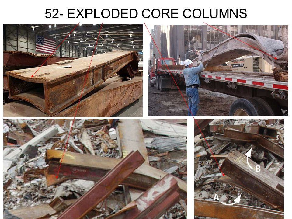 52- EXPLODED CORE COLUMNS