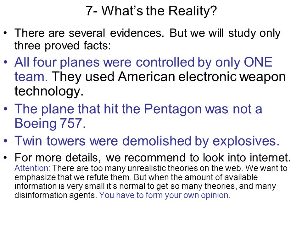 The plane that hit the Pentagon was not a Boeing 757.