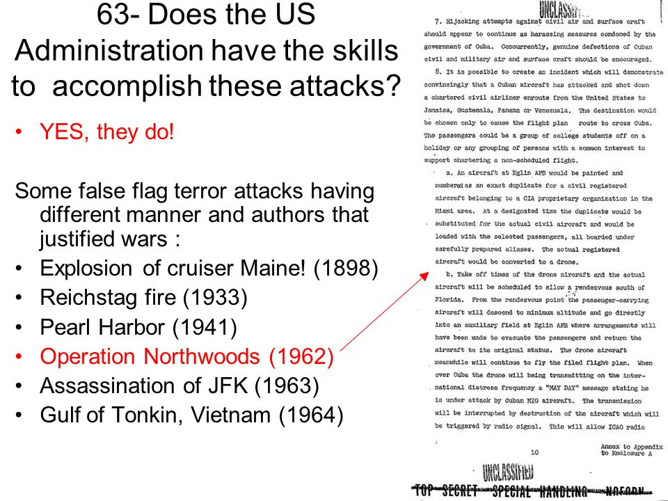 63- Does the US Administration have the skills to accomplish these attacks