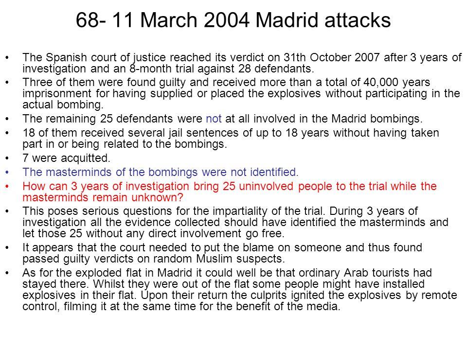68- 11 March 2004 Madrid attacks