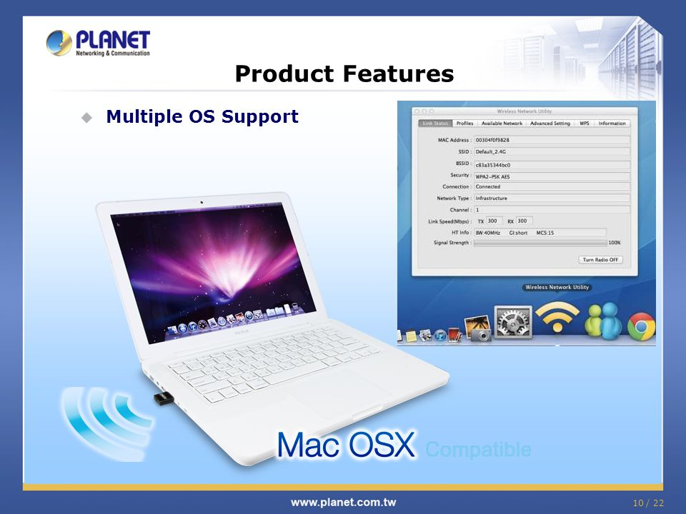 Product Features Multiple OS Support