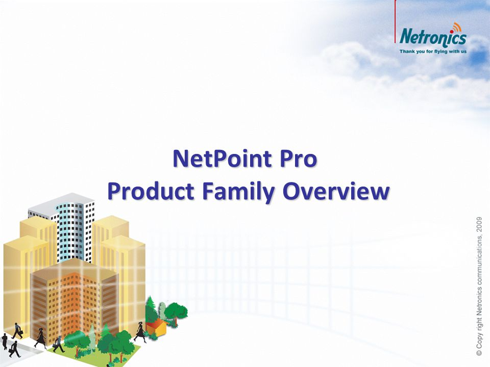 NetPoint Pro Product Family Overview
