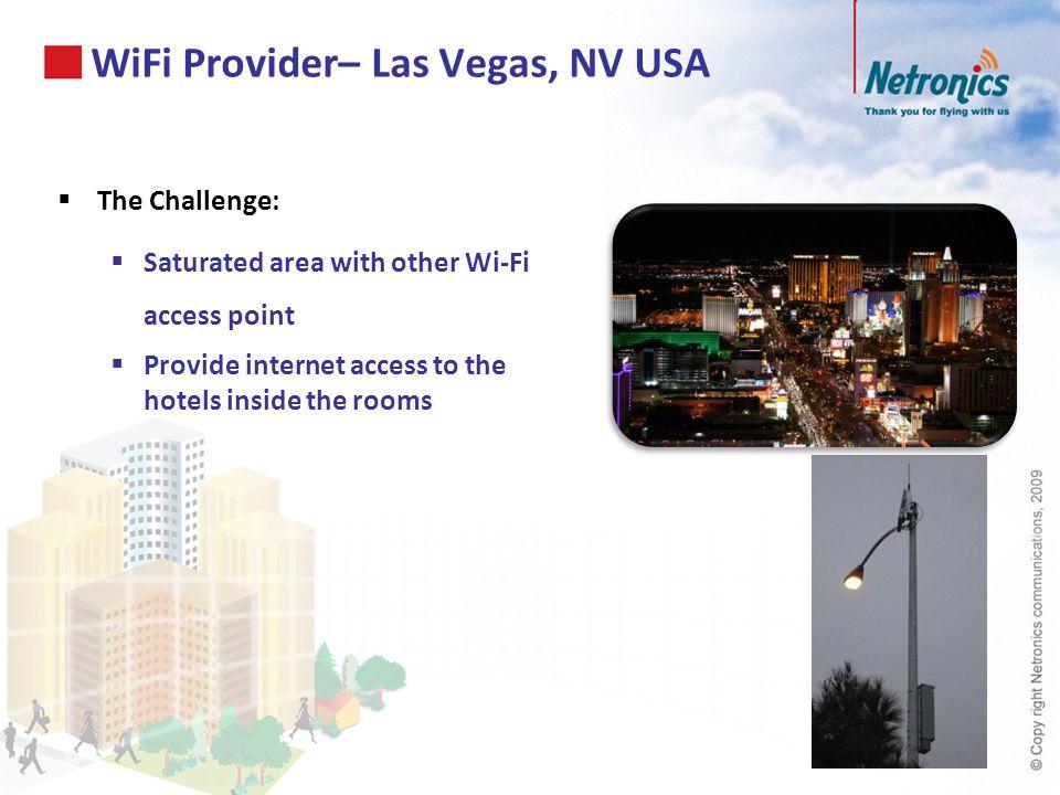 WiFi Provider– Las Vegas, NV USA