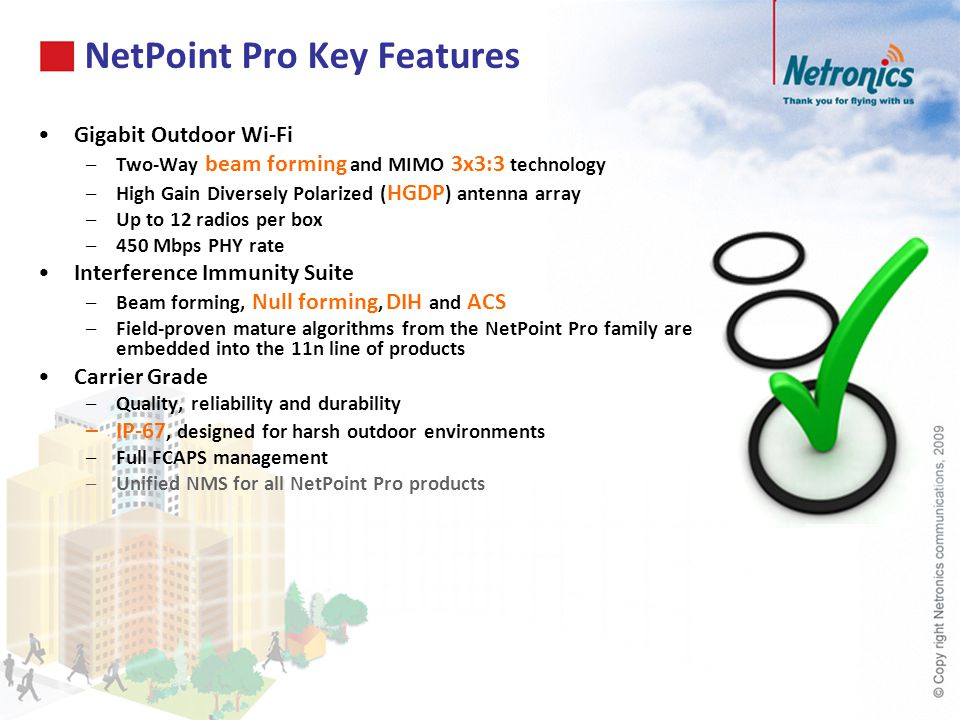 NetPoint Pro Key Features