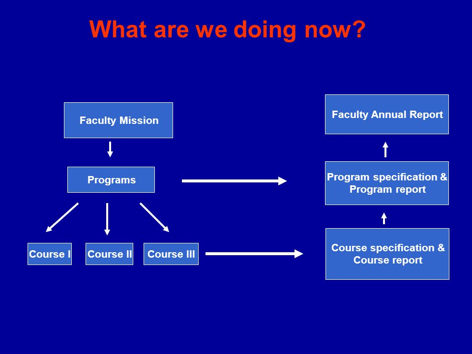 Program specification & Course specification &