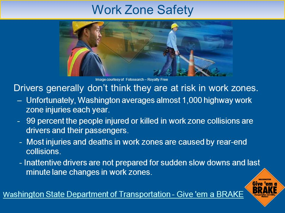 Washington State Department of Transportation - Give em a BRAKE