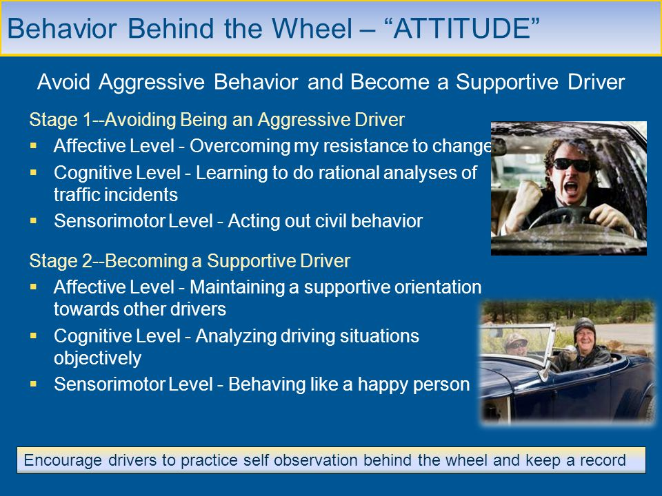 Avoid Aggressive Behavior and Become a Supportive Driver