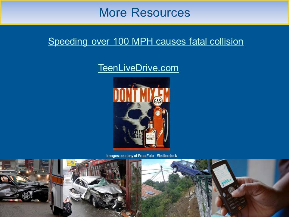Speeding over 100 MPH causes fatal collision