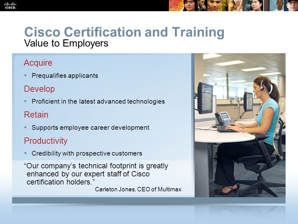 Cisco Certification and Training