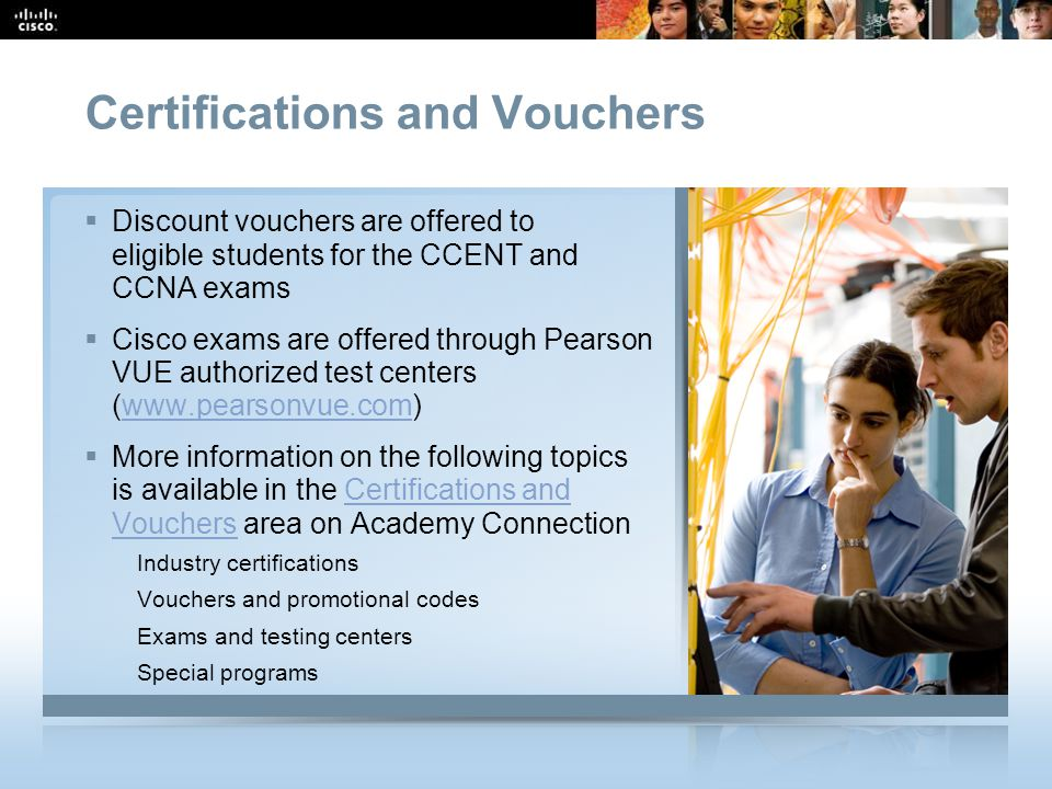 Certifications and Vouchers