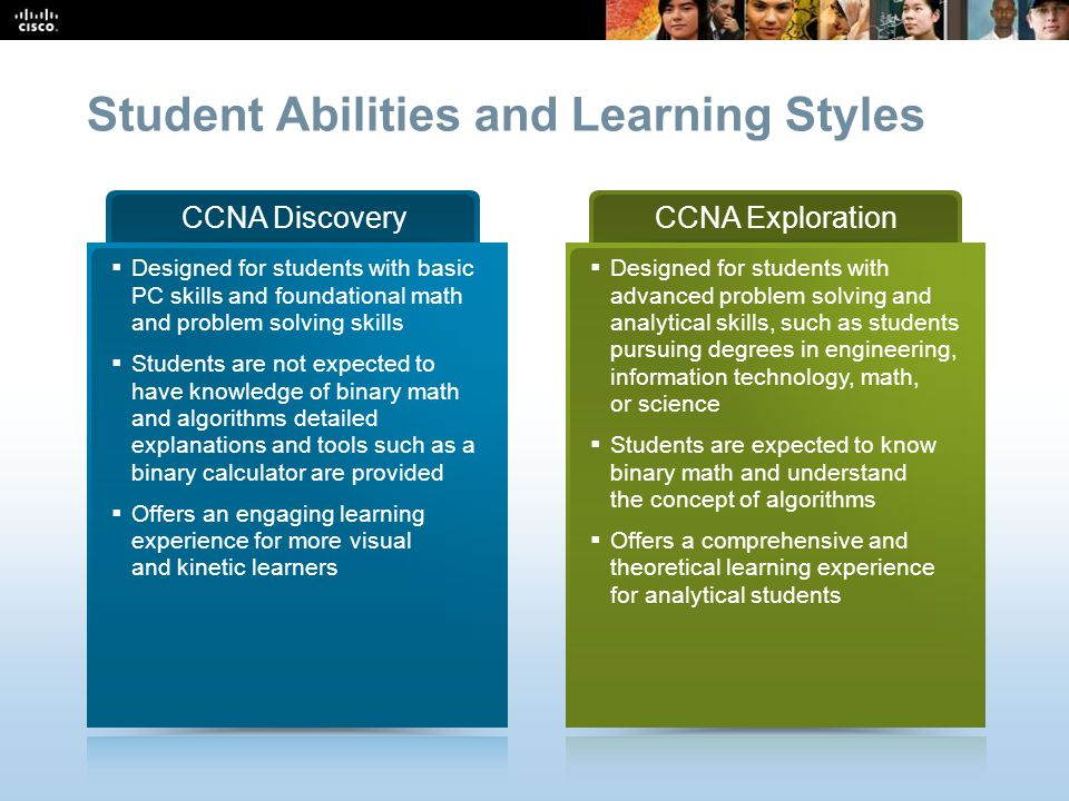 Student Abilities and Learning Styles
