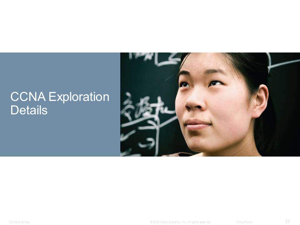 CCNA Exploration Details