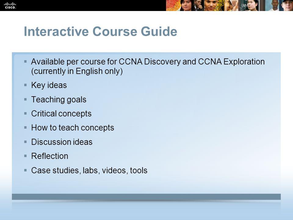 Interactive Course Guide