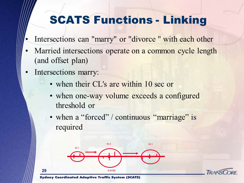 SCATS Functions - Linking