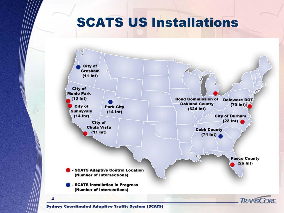 SCATS US Installations