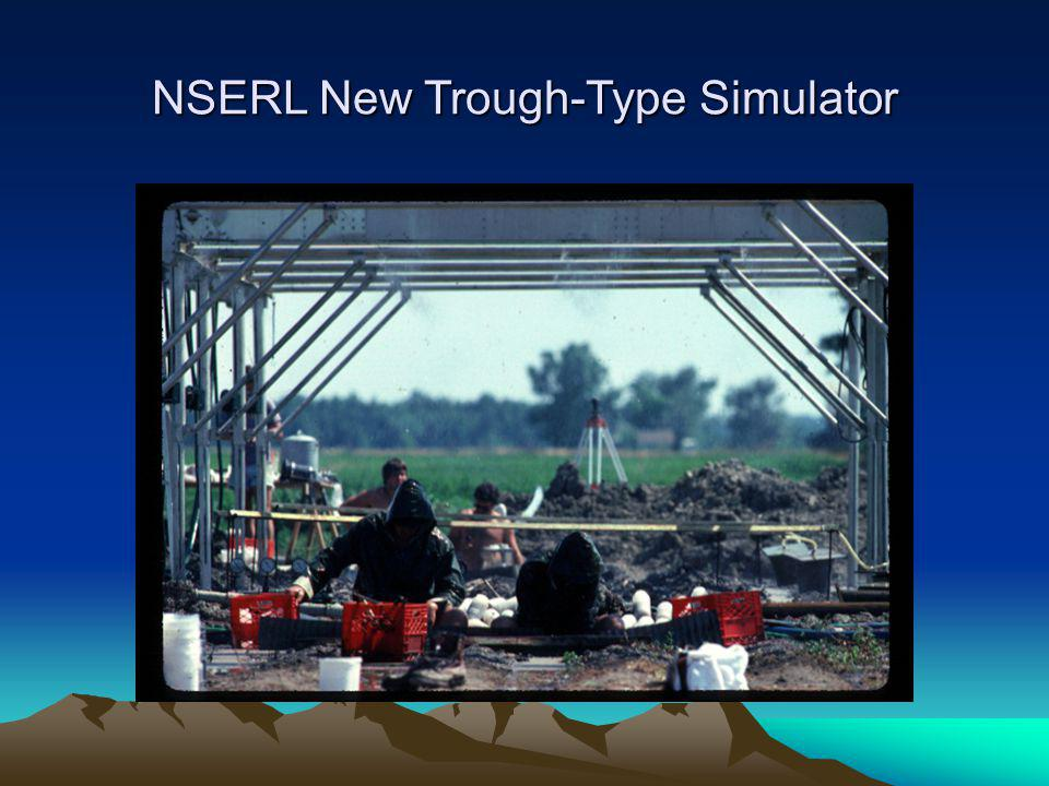 NSERL New Trough-Type Simulator