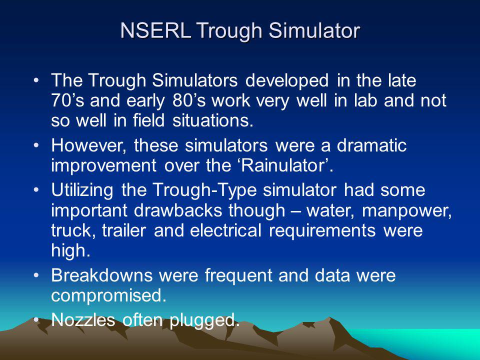 NSERL Trough Simulator