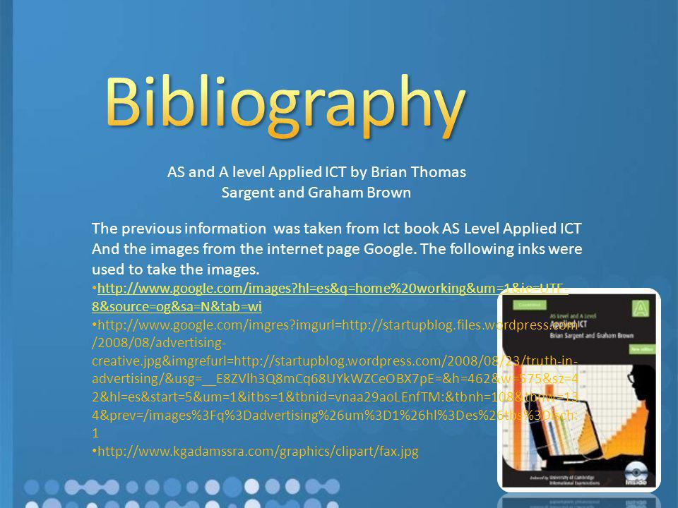 AS and A level Applied ICT by Brian Thomas Sargent and Graham Brown