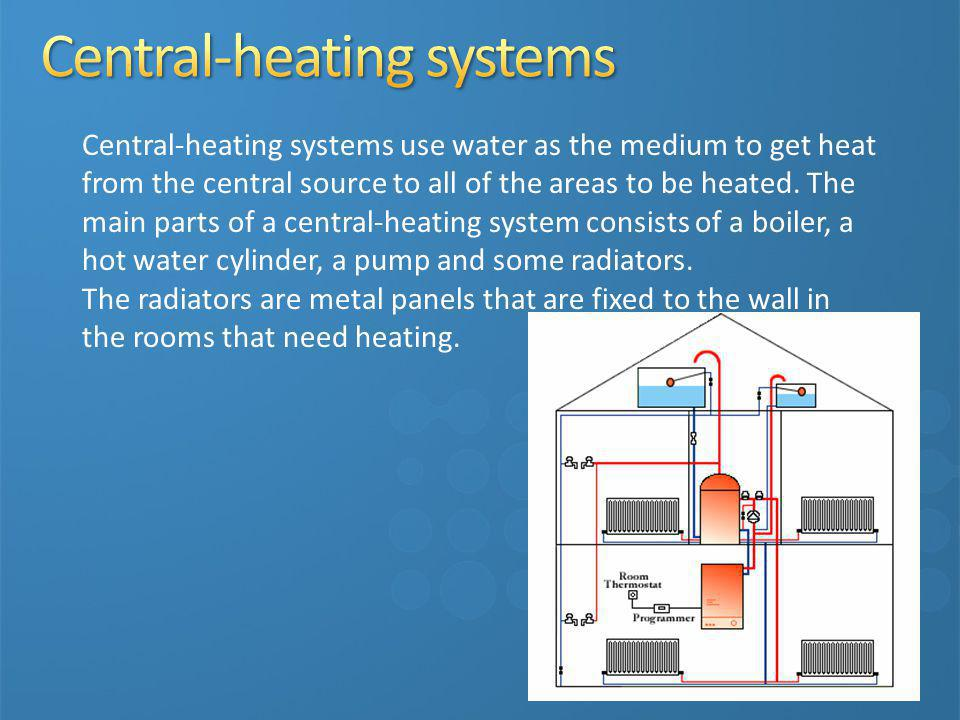 Central-heating systems