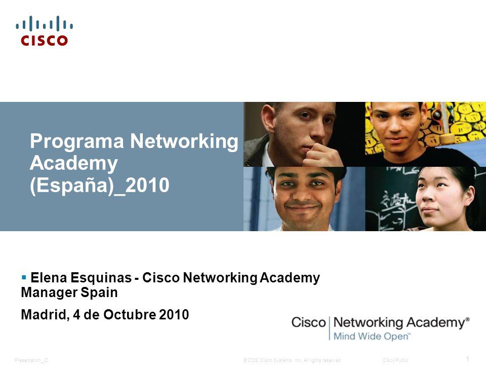 Programa Networking Academy (España)_2010