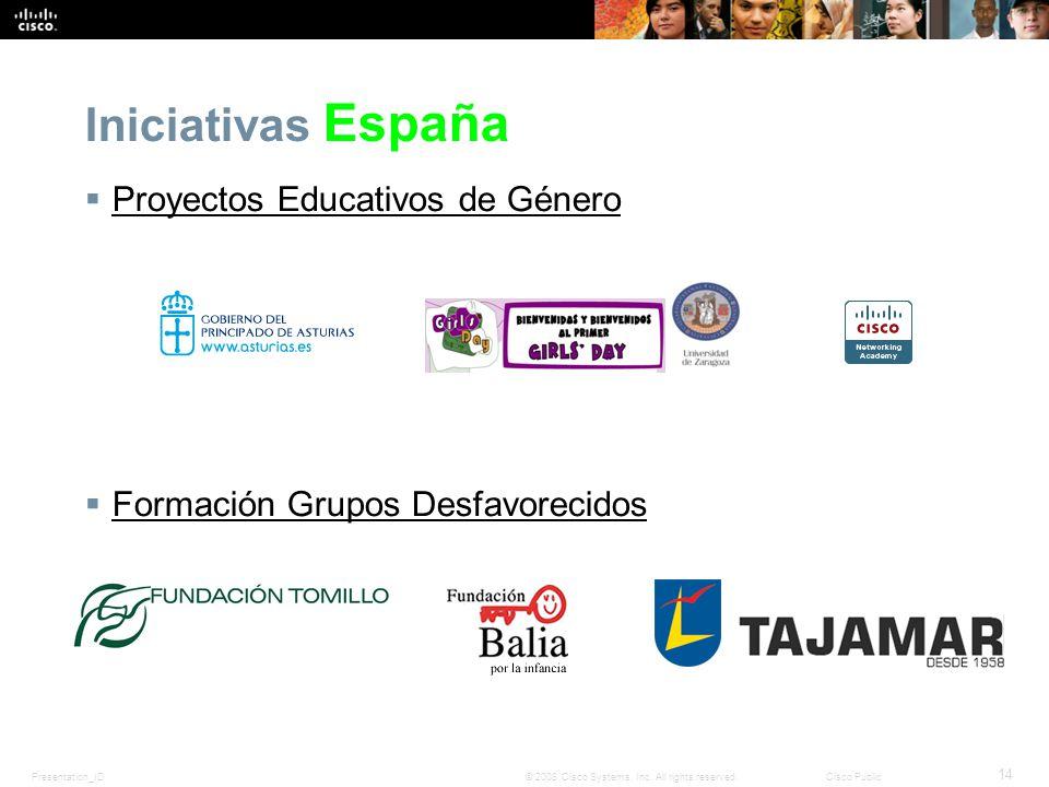 Iniciativas España Proyectos Educativos de Género