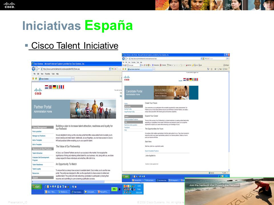 Iniciativas España Cisco Talent Iniciative
