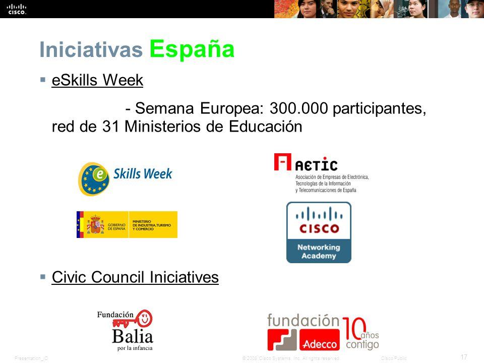 Iniciativas España eSkills Week