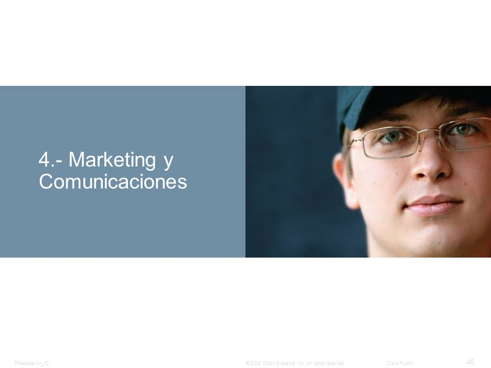 4.- Marketing y Comunicaciones