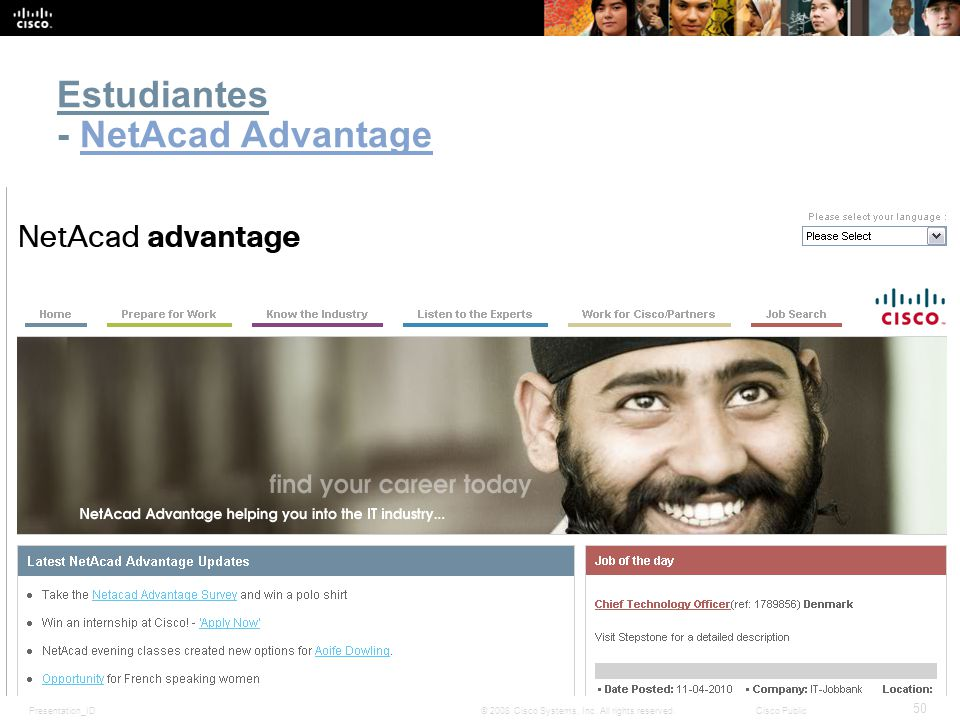 Estudiantes - NetAcad Advantage