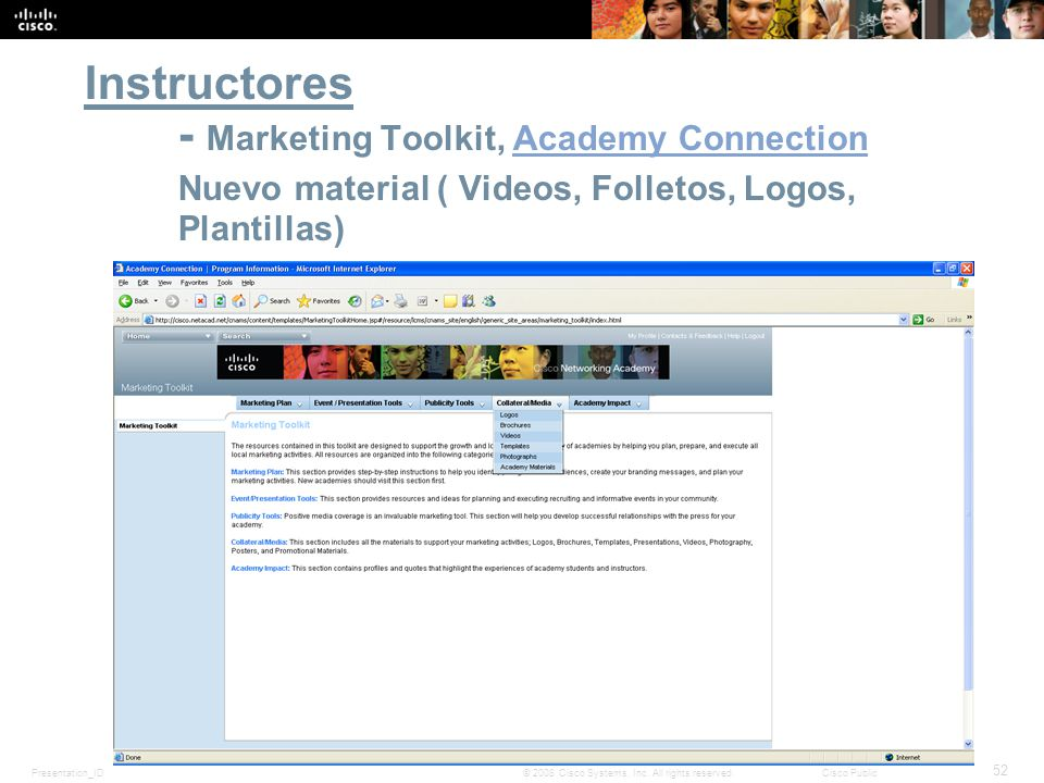 Instructores. - Marketing Toolkit, Academy Connection