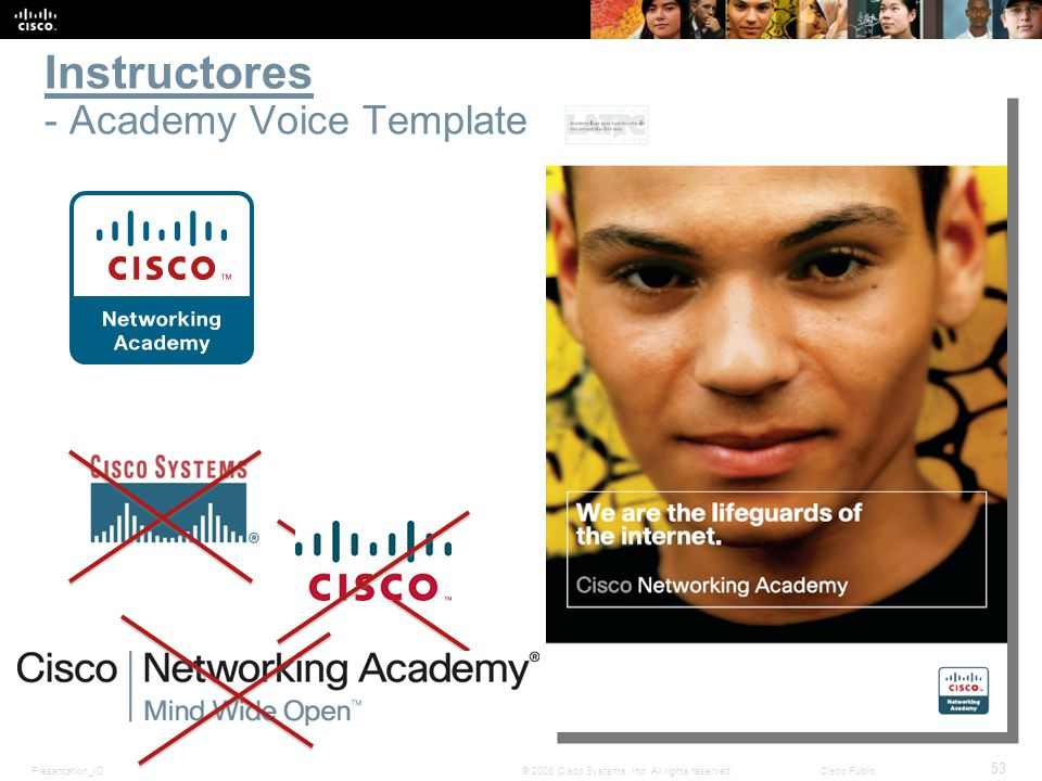 Instructores - Academy Voice Template