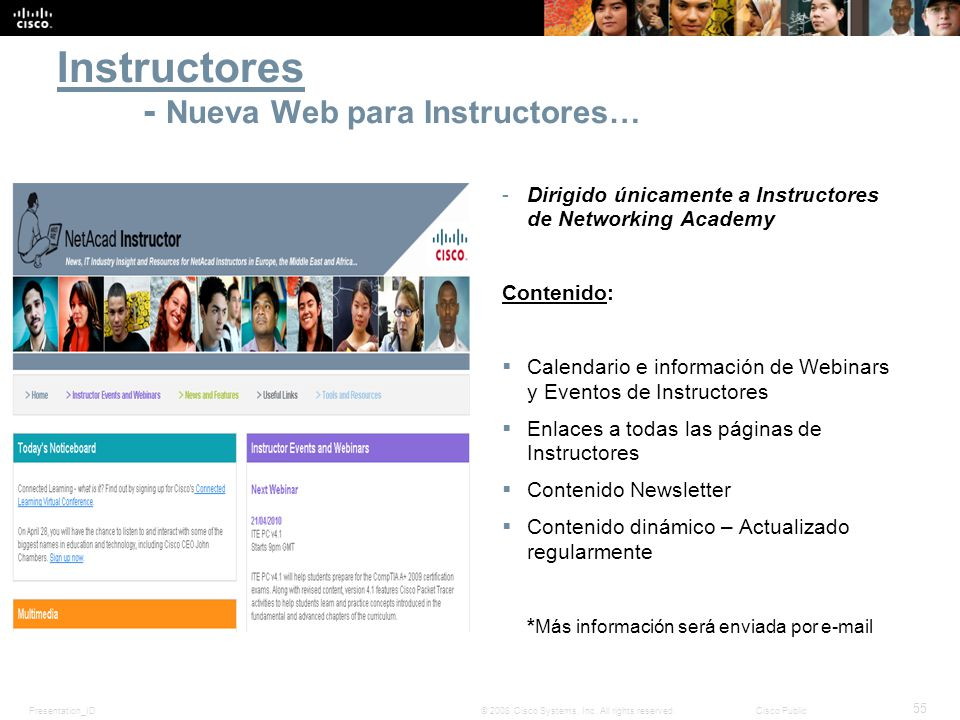 Instructores - Nueva Web para Instructores…