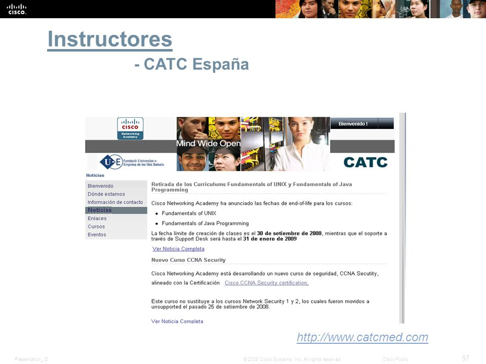 Instructores - CATC España