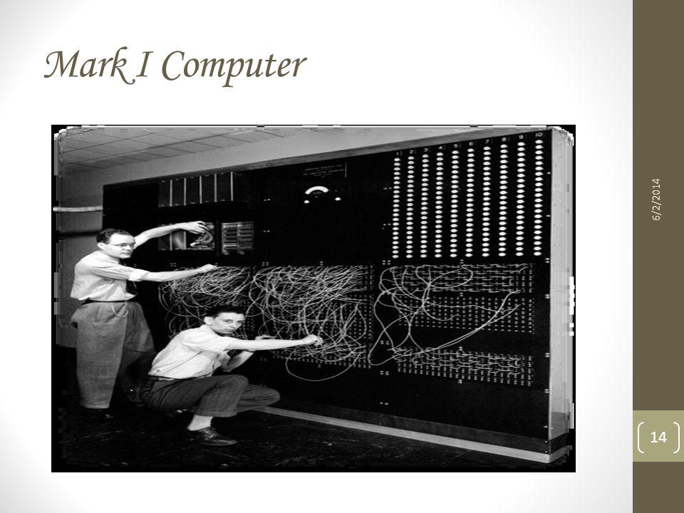 Mark I Computer 3/31/2017