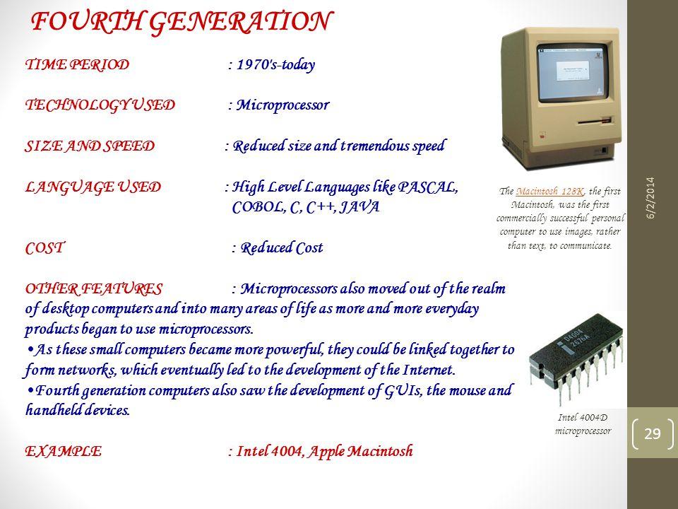 Intel 4004D microprocessor