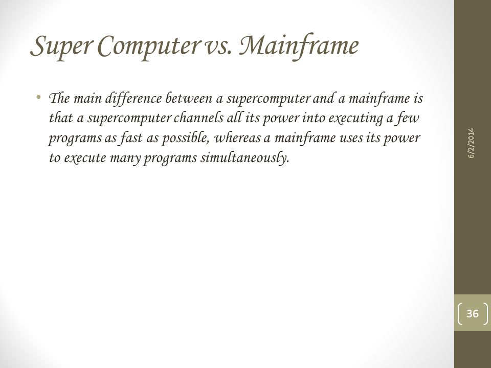personal computers and mainframes a comparison Register / sign in to track your learning activity and get personalized learning   mainframes and distributed server comparisons: why so many servers  mainframe  zdac tef, ri, dat2, flash express, zaware, and autonomic  computing.